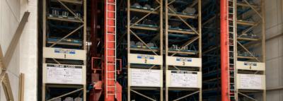 材料の豊富な在庫による短納期対応