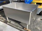 食品機械向け 洗浄用角水槽